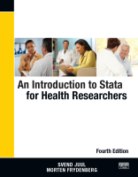 Intro Stata for Health Research 4th Ed. (only for Gradp)