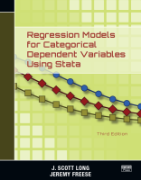 Regression Models for Categorical Dependent Variables Using Stata, 3rd Ed.