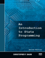 An Introduction to Stata Programming, 2nd Ed., Christopher F. Baum
