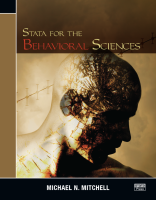 Stata for the Behavioral Sciences by Michael N. Mitchell (ebook)