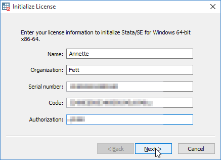Setting up Windows License
